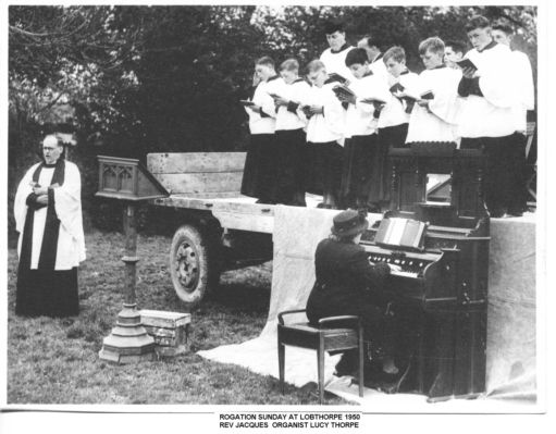 The glory of rogation circa 1950 in England