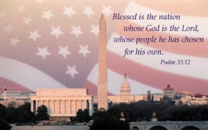 God Bless America psalm33_12