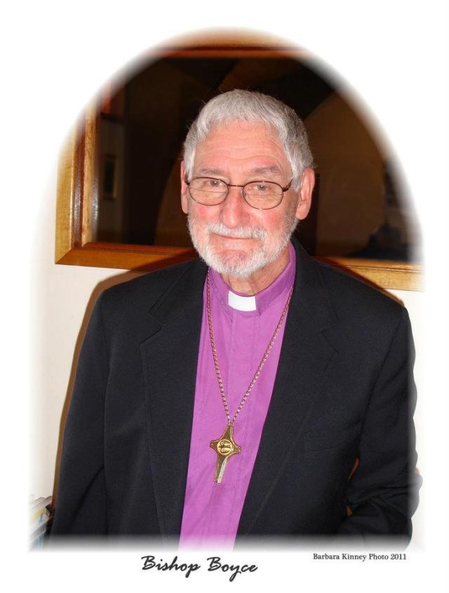 Bishop Richard John Boyce retirement 2011